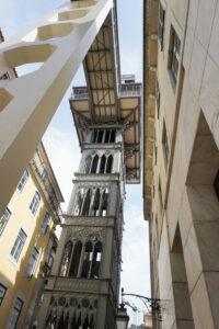 Lissabon - alter Fahrstuhl