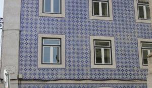 Kachelkunst in Lissabon - typisches altes Motiv