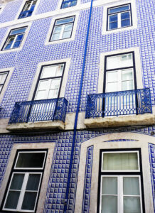 Kachelkunst in Lissabon: Hausfassade
