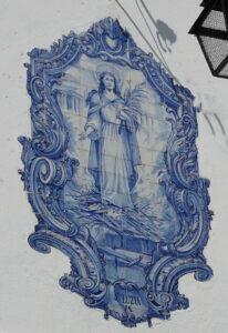 Kachelkunst in Lissabon - Hausbeschriftung