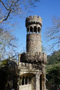 Turm im Quinta da Regaleira