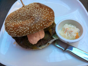 Chilli-Willy Burger im Radisson Blu in Bremen