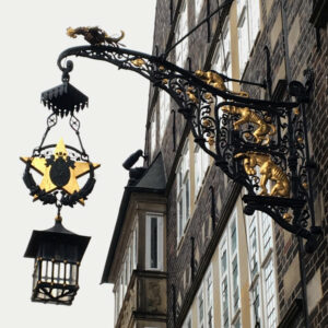 Bremer Stadtmusikanten Lampe