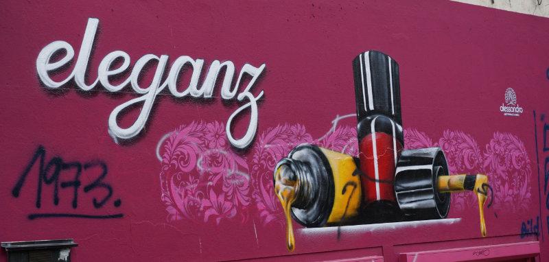 Nagellack - Streetart in Bremens Viertel