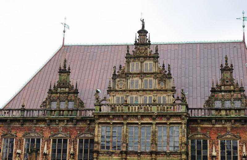 Rathaus auf dem Marktplatz in Bremen