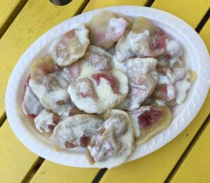 Erdbeer Pierogi Foodtour Krakau