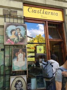 Ciastkarnia Vanilla Foodtour Krakau