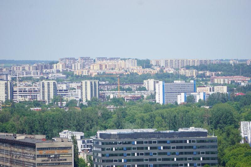 Blick in die Neubaugebiete