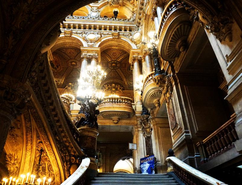 Palais Garnier Blick zur Haupttreppe