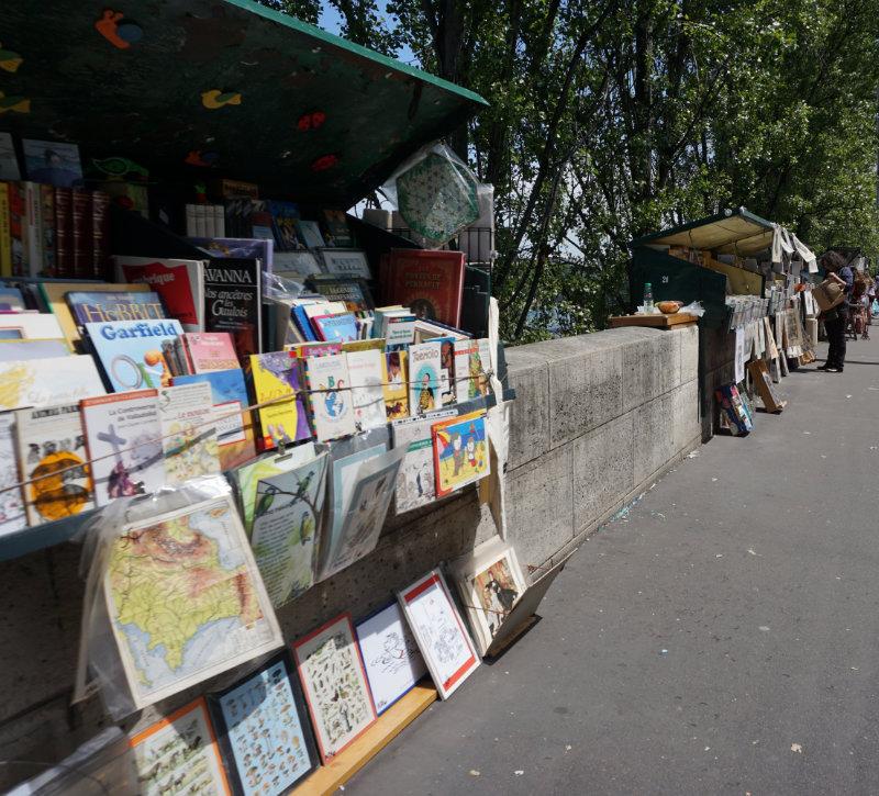 Buchverkauf an der Seine