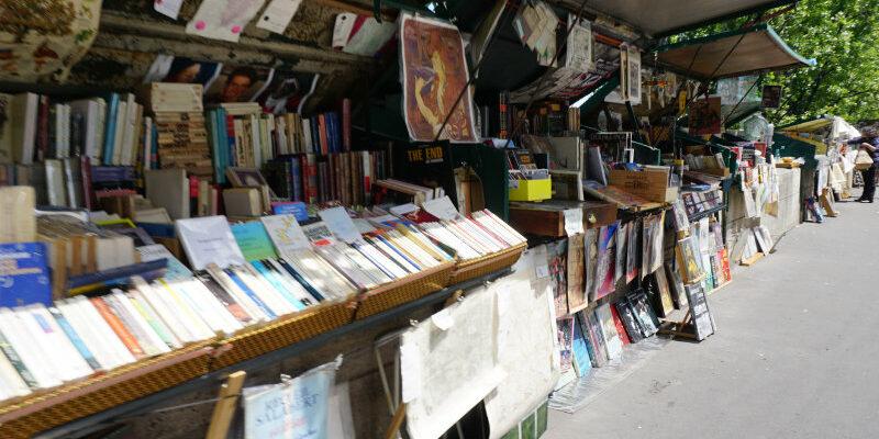 Buchhändler an der Seine