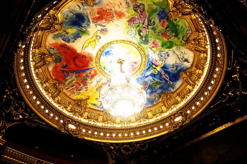 Deckengemälde Chagall Palais Garnier