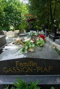 Edith Piaf Friedhof Père Lachaise