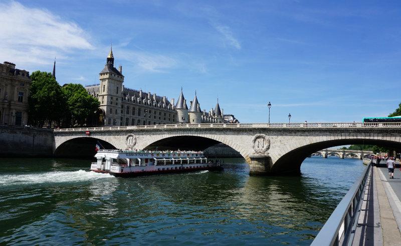 Uferweg Seine in Paris