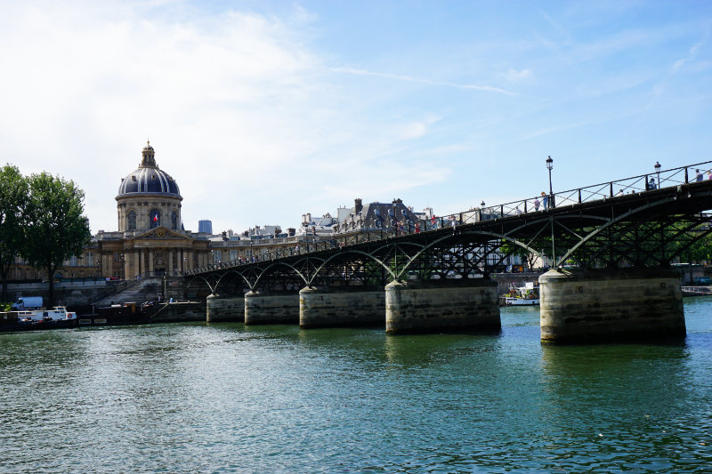Pont des Arts - Seine in Paris