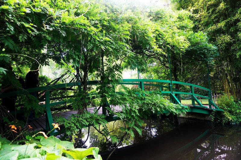 Seerosenteich Monet - Brücke