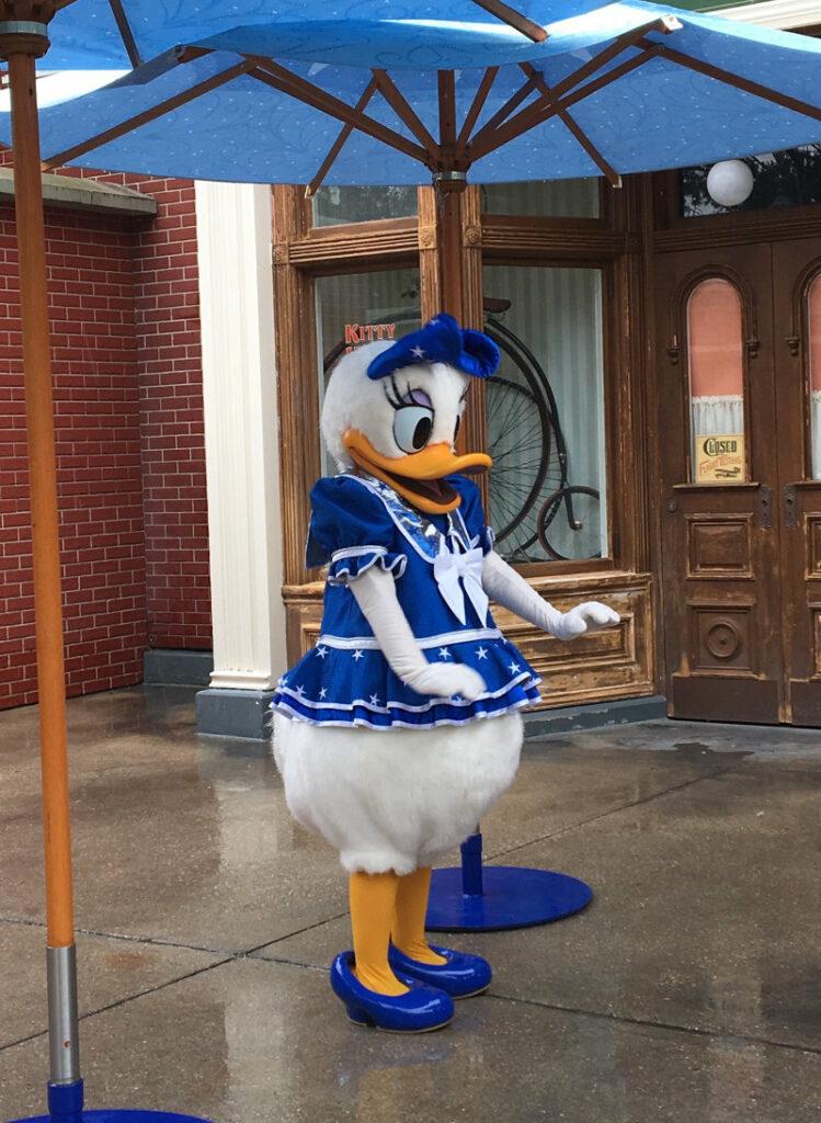 Disneyfiguren erleben Daisy