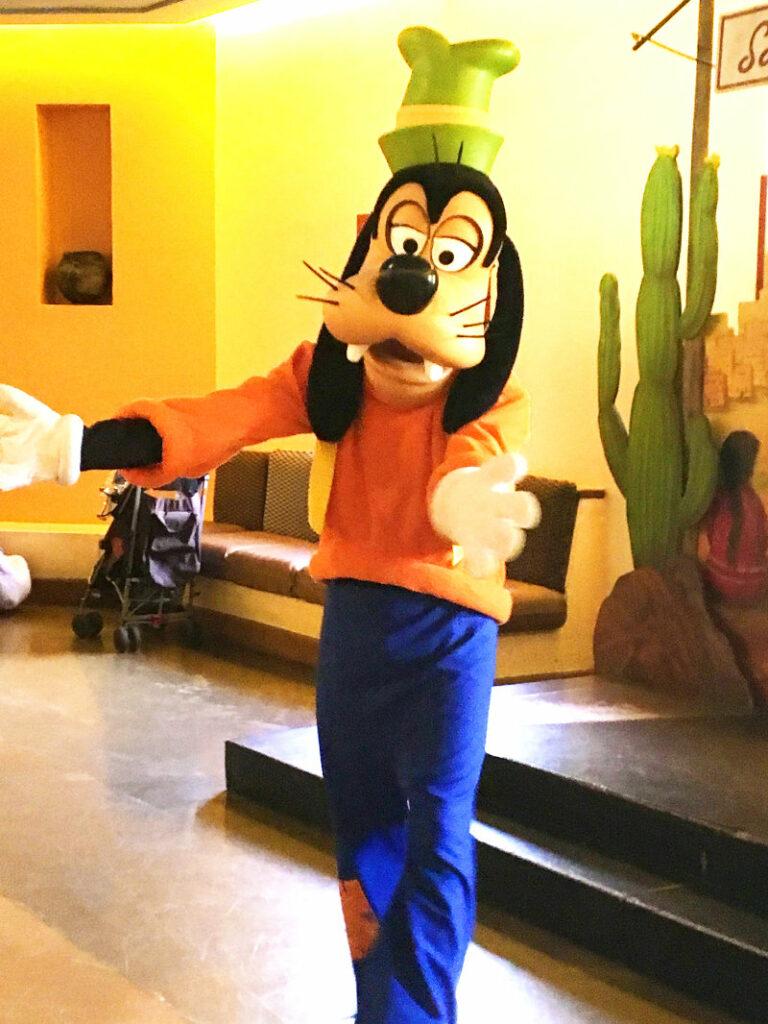 Goofy im Hotel Santa Fe