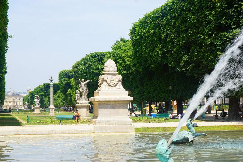 Jardin du luxembourg ein sehenswerter park in paris - Jardin du luxembourg adresse ...