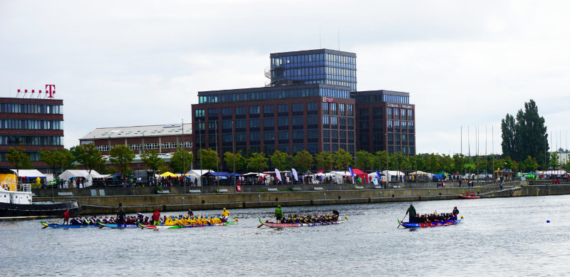 Wochenende in Kiel Drachenbootrennen