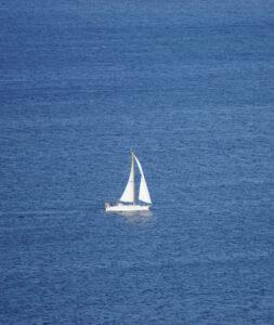 Segelboot auf der Kieler Förde