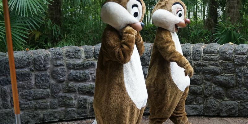 Disneyfiguren erleben