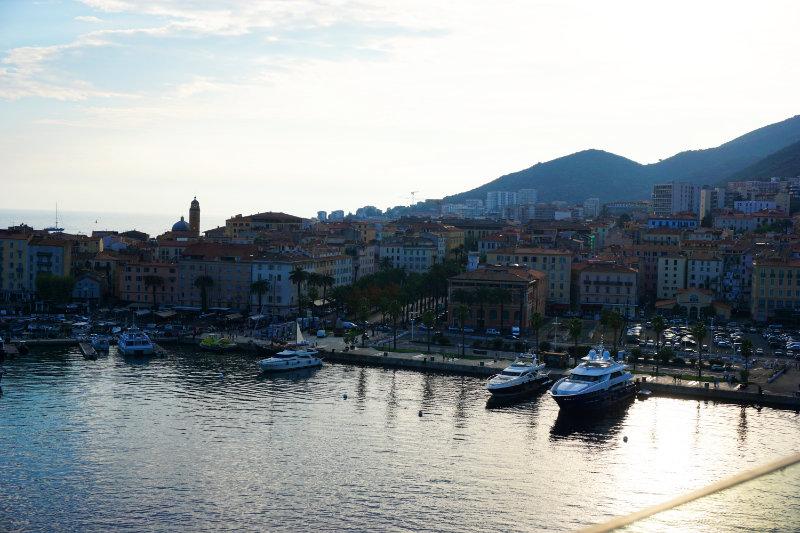 Abendstimmung Hafen von Ajaccio