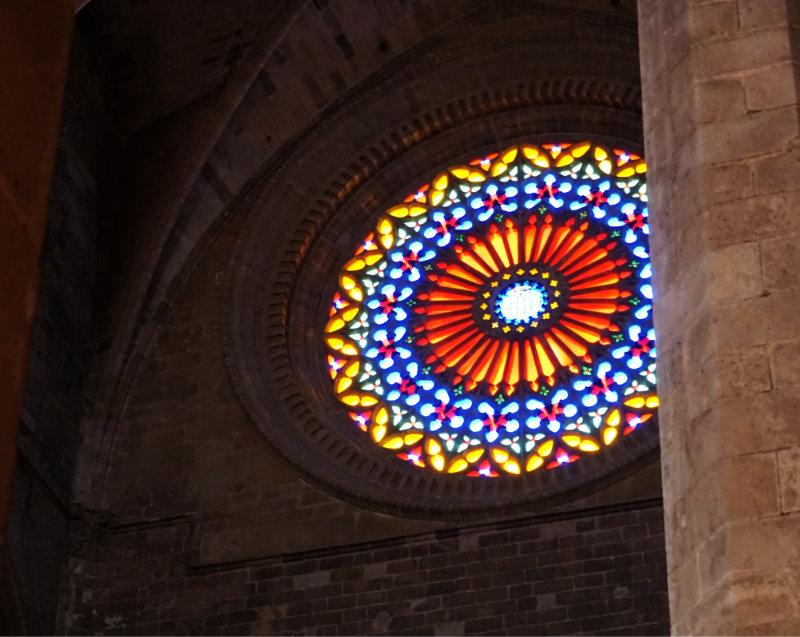 Kathedrale von Palma Fenster