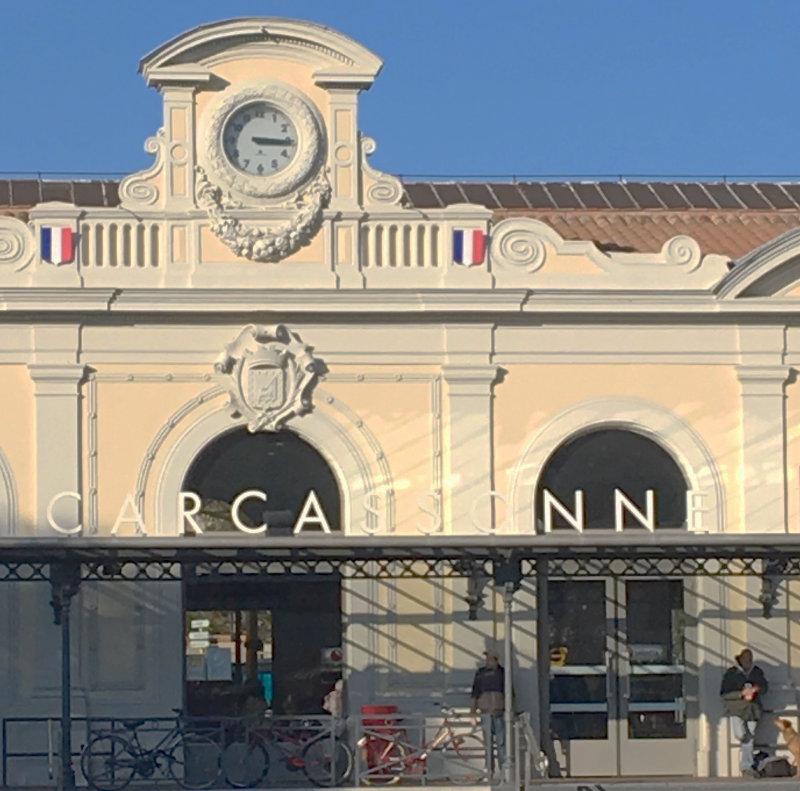Bahnhof von Carcassonne