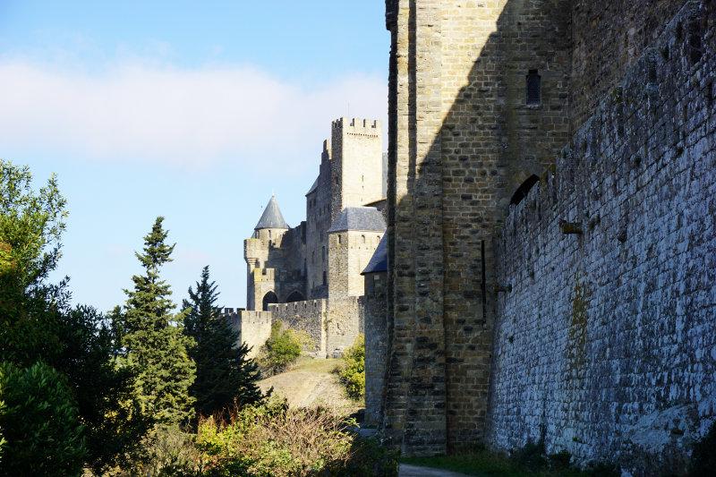 Carcassonne Burgmauern