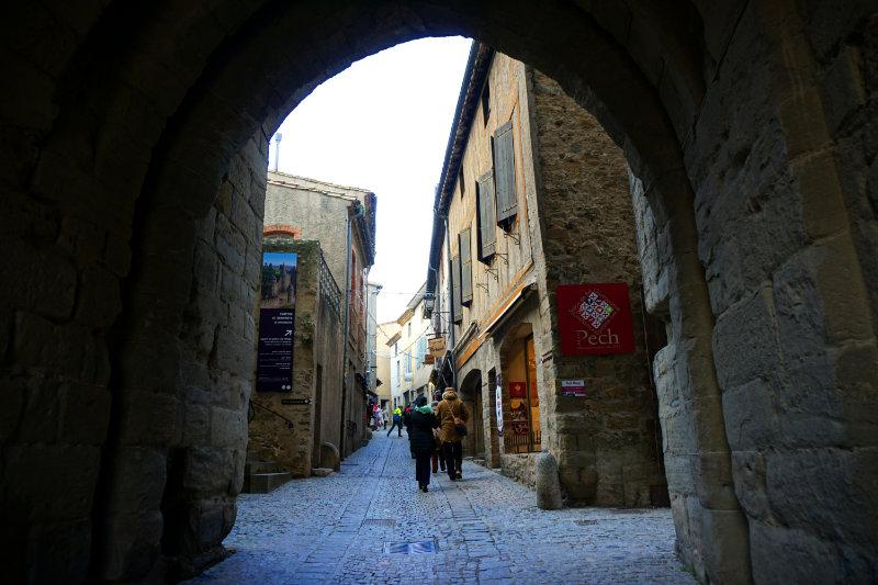Gassen durch die Festungsstadt