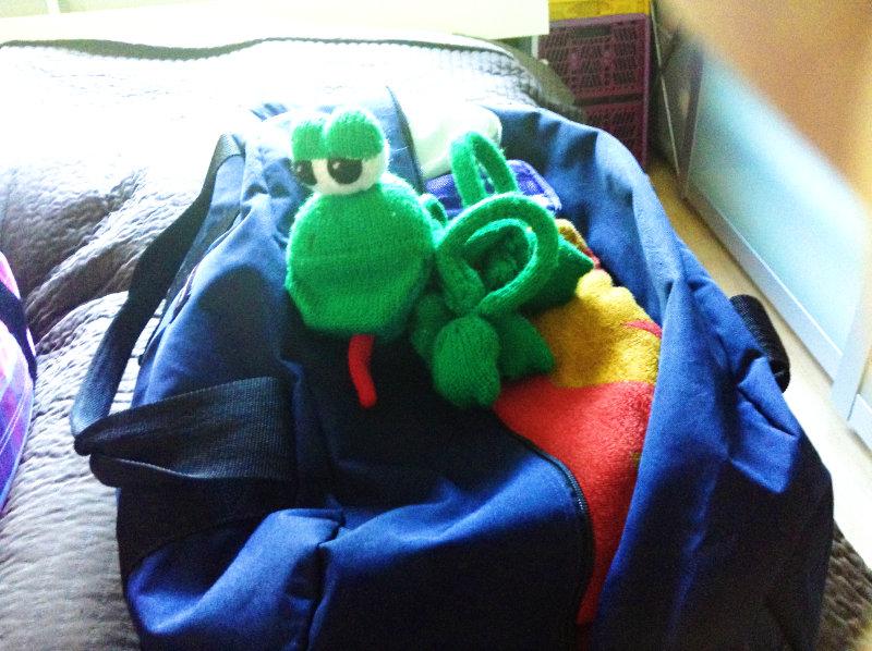 Handgepäck - Koffer packen