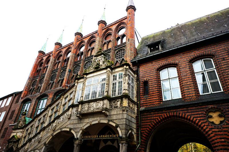 Rathaus Treppe Breite Straße