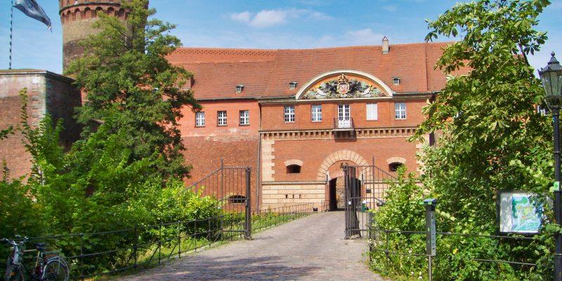 Eingang der Zitadelle Spandau