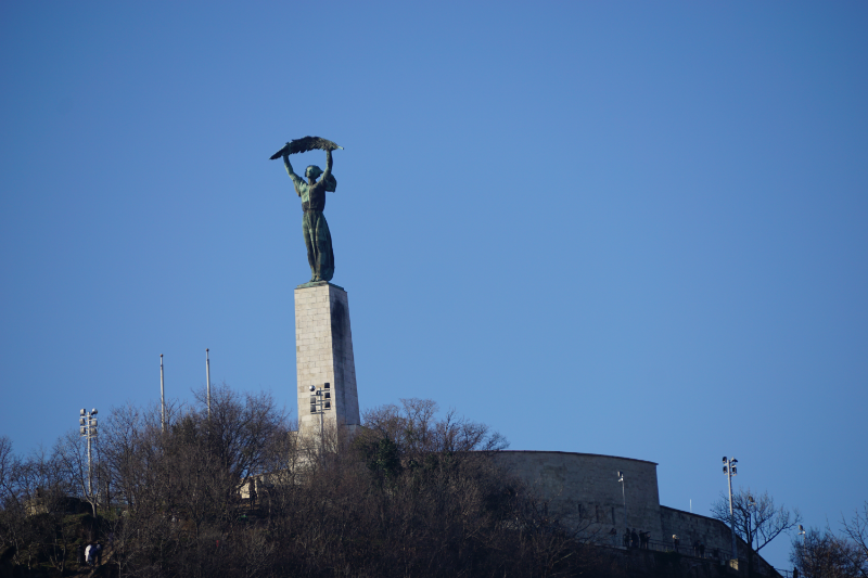 Freiheitsstatue Gellértberg