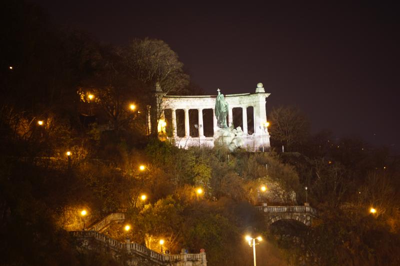 Gellértdenkmal Nacht