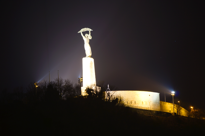 Nachtbild Gellertberg