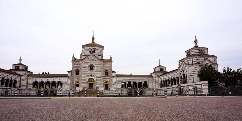 Cimitero Monumentale - Zentralfriedhof von Mailand - Eingangsgebäude