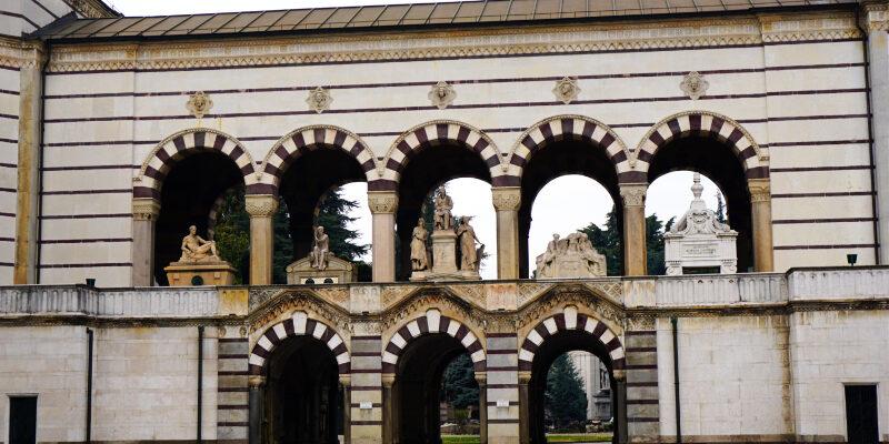 Gallerie Cimitero Monumentale - Zentralfriedhof von Mailand