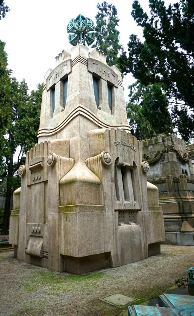 Cimitero Monumentale - Zentralfriedhof von Mailand