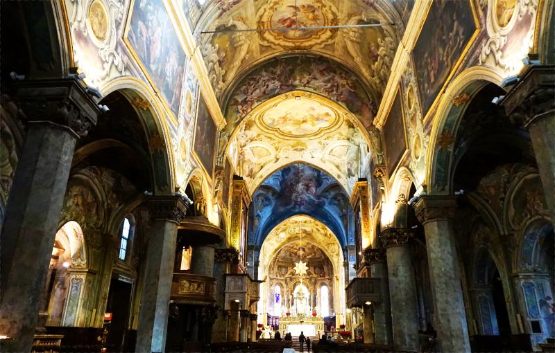 Dom von Monza - Kirchenschiff