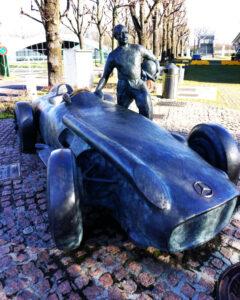 Formel 1 Rennstrecke in Monza