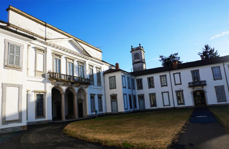 Villa Mirabello im Park von Monza