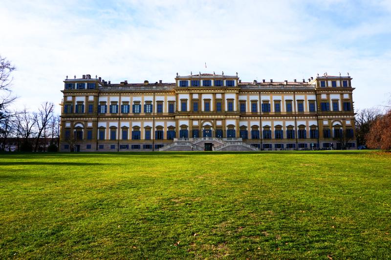 Villa Reale im Park von Monza