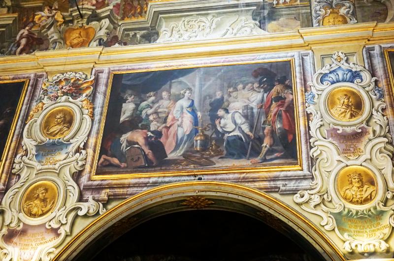 Dom von Monza - Wandgestaltung