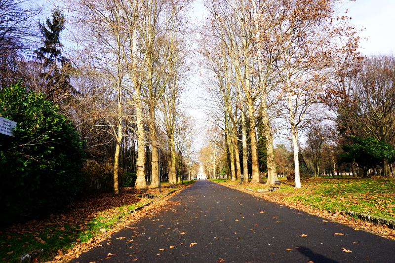 Park von Monza - Hinweg