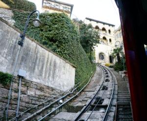 Bergamo Funiculare Fahrt