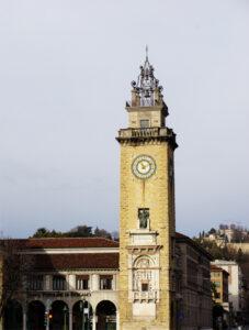 Bergamo - Turm Unterstadt