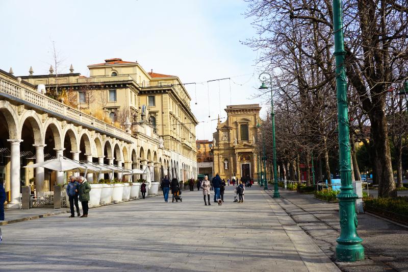 Bergamo - Unterstadt