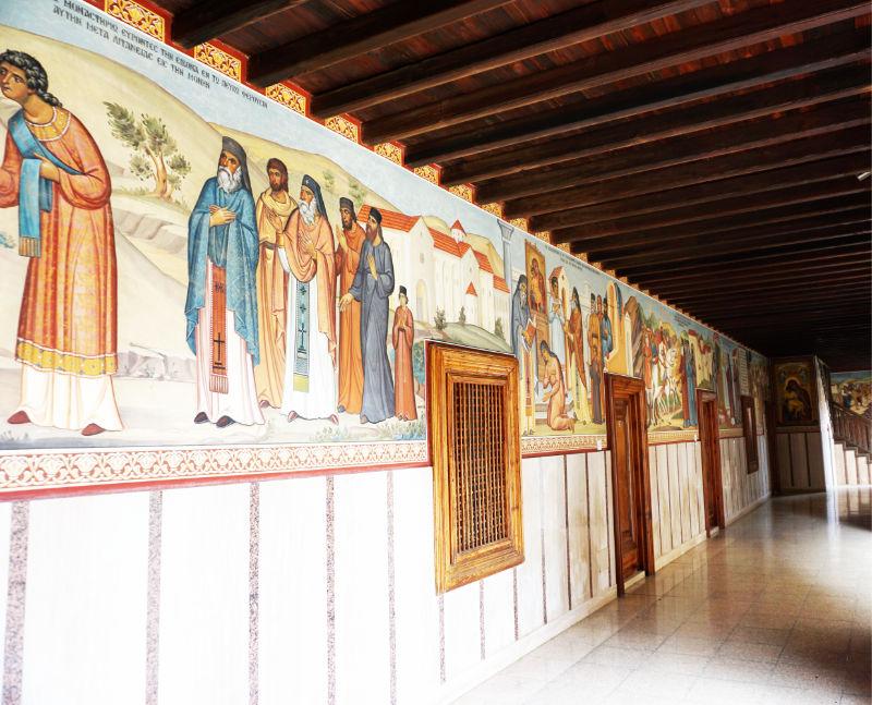 Arkardengang Kloster Kykkos